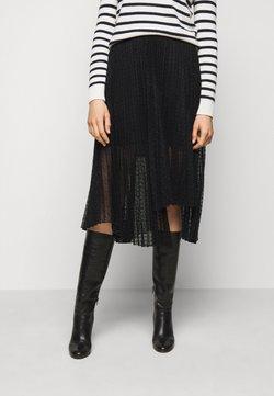 maje - JANA - Spódnica trapezowa - noir
