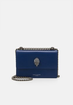 Kurt Geiger London - SHOREDITCH CROSS BODY - Torba na ramię - blue dark