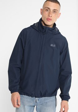 Jack Wolfskin - STORMY POINT JACKET  - Regenjacke / wasserabweisende Jacke - night blue