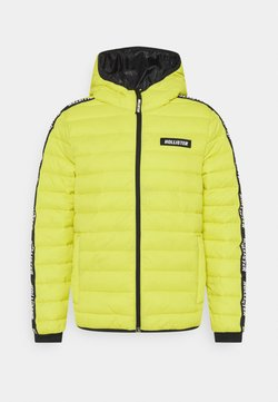 Hollister Co. - CHANNEL CORE PUFFER - Winterjacke - neon yellow