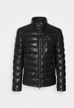 Blauer - JACKET - Leren jas - black