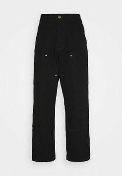 Carhartt WIP - DOUBLE KNEE PANT DEARBORN - Jeans Straight Leg - black rinsed