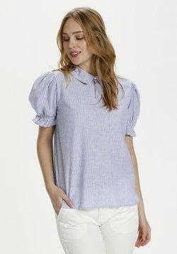 Culture - Bluse - blue stripe