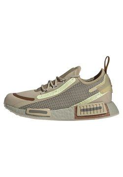 adidas Originals - NMD_R1 SPEEDLINES BOOST SHOES - Sneaker low - savannah/feather grey/yellow tint