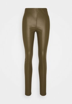 Soaked in Luxury - KAYLEE - Leggings - Hosen - military olive