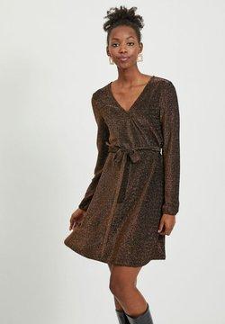 Vila - Cocktailkleid/festliches Kleid - tobacco brown