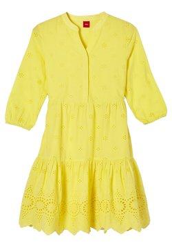 s.Oliver - Freizeitkleid - yellow