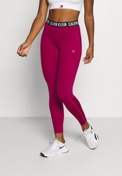 Calvin Klein Performance - BASELAYER - Tights - pink