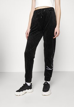 Karl Kani - SIGNATURE PANTS  - Jogginghose - black