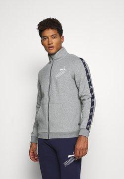 Puma - AMPLIFIED SUIT - Trainingsanzug - medium gray heather