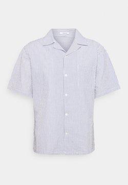 Denham - BOWLING - Hemd - blue/white