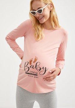 DeFacto - Camiseta de manga larga - pink