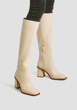 PULL&BEAR - Stiefel - beige