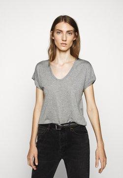 CLOSED - WOMEN´S - T-Shirt basic - grey heather melange