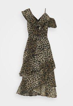 AllSaints - KARI LEPPO DRESS - Vestido de cóctel - leopard yellow