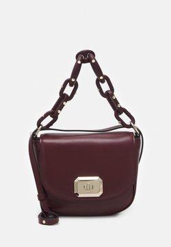 Red V - SHOULDER BAG - Torebka - burgundy