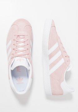 adidas Originals - GAZELLE  - Sneaker low - ice pink/footwear white/gold metallic