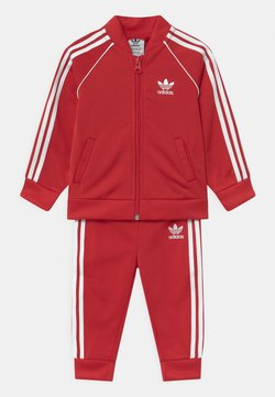 adidas Originals - SET UNISEX - Survêtement - scarlet/white