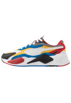 Puma - RS-X UNISEX - Baskets basses - white/spectra yellow/black