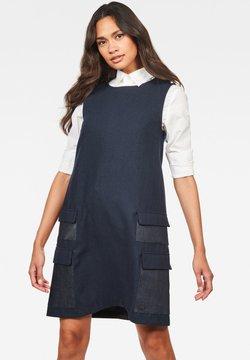 G-Star - BLAKE MULTI POCKETS - Vestido informal - mazarine blue