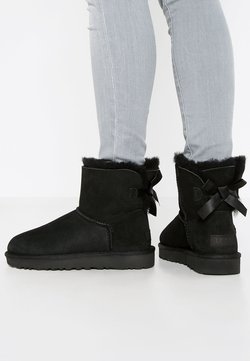UGG - MINI BAILEY BOW - Stiefelette - black