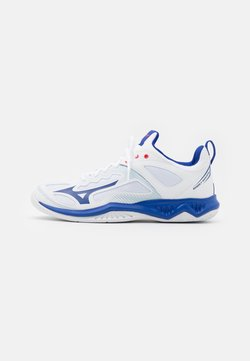 Mizuno - GHOST SHADOW - Zapatillas de balonmano - white/reflex blue/diva pink