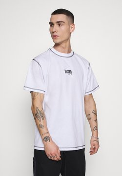 The Ragged Priest - RAGGED TEE WITH STITCHING - Printtipaita - white