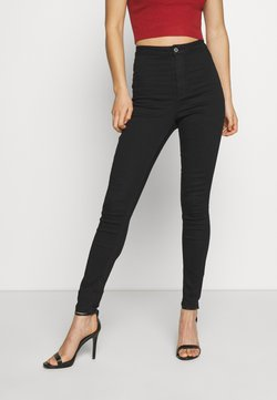 Missguided - VICE HIGH WAISTED - Jeans Skinny Fit - black