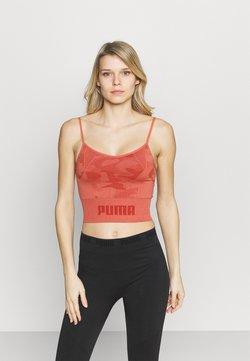 Puma - EVOKNIT SEAMLESS CROP - Funktionsshirt - autumn glaze