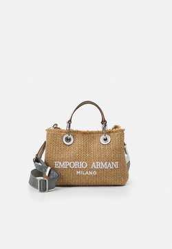 Emporio Armani - BAG SET - Borsa a mano - natural/bianco
