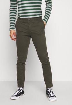 Burton Menswear London - TEDDINGTON WASHED - Chinot - khaki