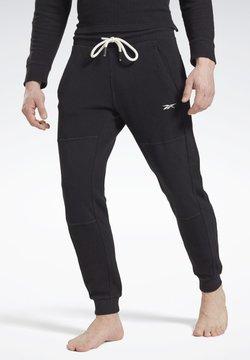 Reebok - COMBAT WAFFLE - Jogginghose - black