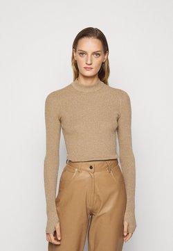 HUGO - SLOK - Jersey de punto - light pastel brown