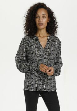 Kaffe - KAJUNA - Langarmshirt - grape leaf zebra print