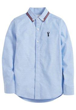 Next - BLUE LONG SLEEVE OXFORD SHIRT WITH TAPED COLLAR (3-16YRS) - Koszula - blue