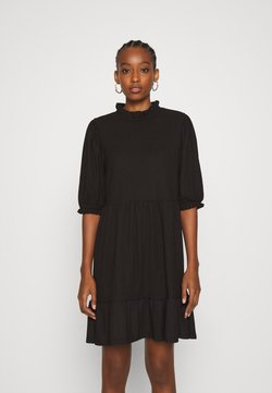 ONLY - ONLZILLE HIGHNECK DRESS - Blusenkleid - black
