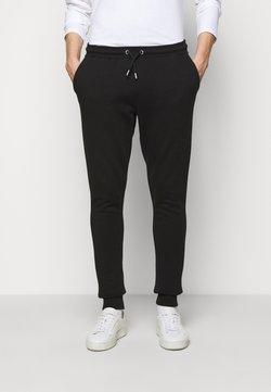 Les Deux - PANTS - Jogginghose - black/white