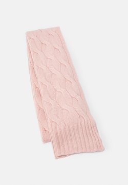 Johnstons of Elgin - GAUZY CABLE SCARF - Sciarpa - orchid