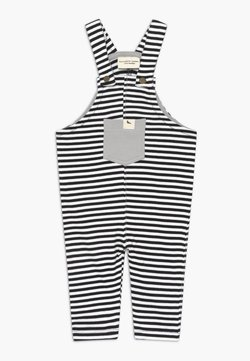 Turtledove - HUMBUG STRIPE EASY FIT BABY  - Tuinbroek - white/black