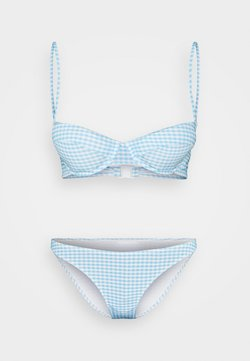 Gina Tricot - NINA BRA - Bikini - blue