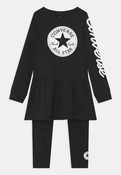 Converse - SCRIPT LOGO SET - Leggings - Hosen - black