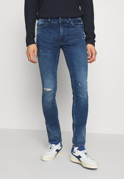 Only & Sons - ONSLOOM ZIP - Jean slim - blue denim