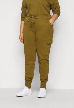 Vero Moda Curve - VMMERCY PANT - Jogginghose - fir green