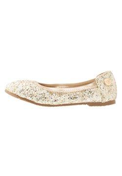 Walnut - CATIE FRECKLE BALLET - Ballerinat - gold