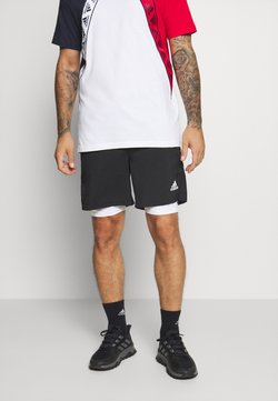 adidas Performance - SHORT - Träningsshorts - black/white