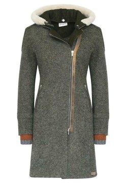 Stapf - Klassischer Mantel - asche