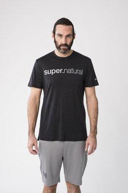 super.natural - GRAPHIC - T-Shirt print - black