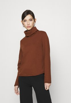 ONLY - ONLNEO COWLNECK - Sweatshirt - cappuccino