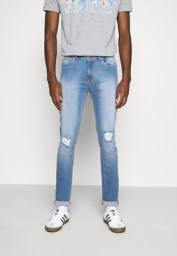 Another Influence - XYLA - Vaqueros slim fit - light blue