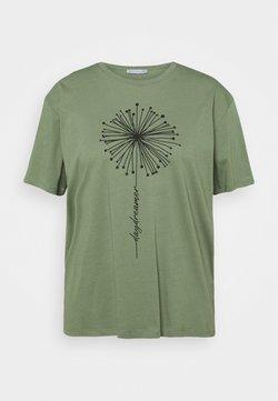 Anna Field Curvy - T-Shirt print - green